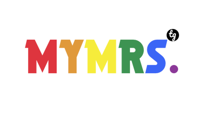 MYMRS. Rainbow for white